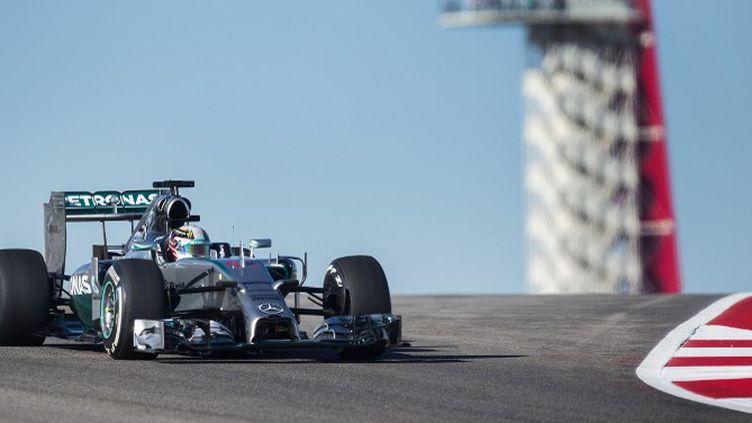 Lewis Hamilton a déplace les foules sur le circuit d'Austin au Texas en 2014 (JIM WATSON / AFP)
