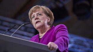 La chancellière allemande, Angela Merkel, le 26 février 2018 à Berlin (Allemagne). (ZICK JOCHEN / ACTION PRES / SIPA)