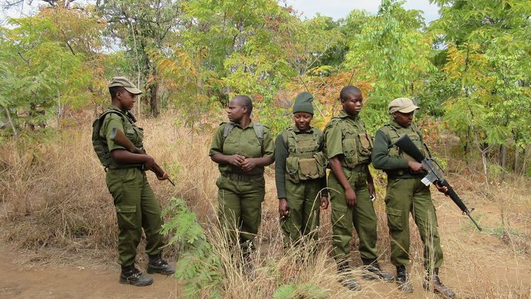 Femmes rangers d'Akhashinga (Kate Bartlett/AFP)