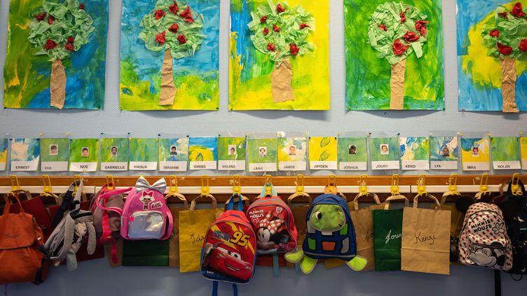 Une école primaire, le 1er septembre 2020, à Nice (Alpes-Maritimes). (ARIE BOTBOL / HANS LUCAS / AFP)