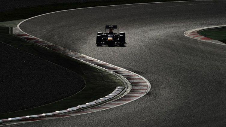 A l'aube de la saison 2013, Mark Webber sur le circuit de Catalogne