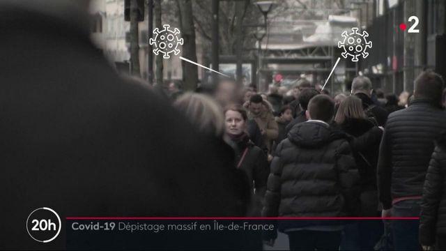Covid-19 : vaste dépistage en Île-de-France pour traquer les asymptomatiques