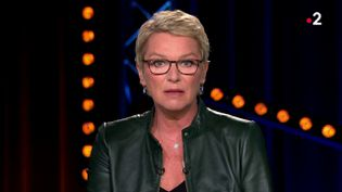 Elise Lucet, le 14 mars 2018 sur France 2. (FRANCE 2)