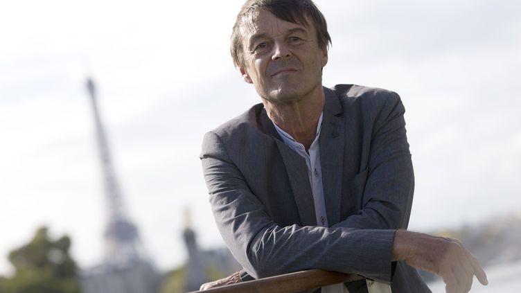 Nicolas Hulot, le 6 octobre 2015 à Paris. (KENZO TRIBOUILLARD / AFP)