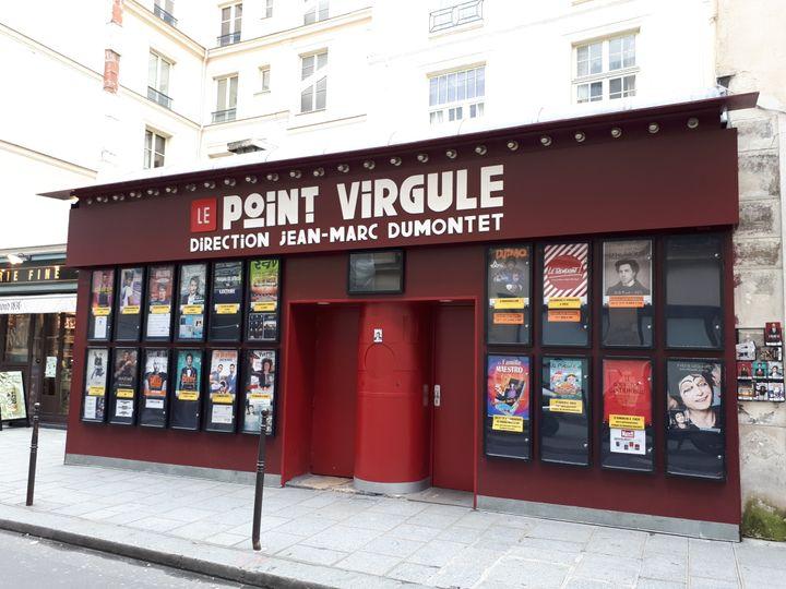 La célèbre salle Le Point virgule à Paris, propriété du producteur Jean-Marc Dumontet. (ANNE BRUNEL / RADIO FRANCE)