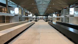 La Halle Freyssinet a été entièrement transformée en espace de travail pour le start up (JC/RF)