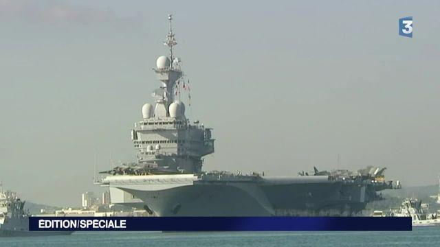 Syrie: le Charles de Gaulle vient renforcer les effectifs