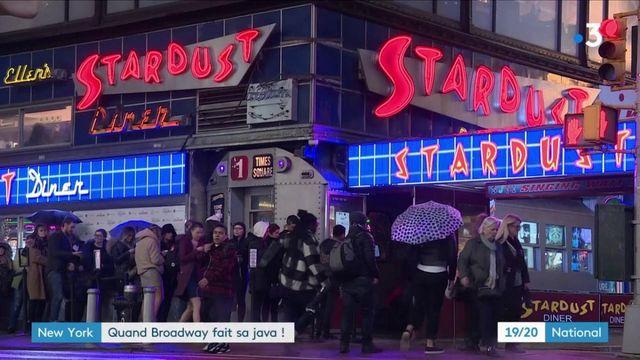 New-York : quand Broadway fait sa java !