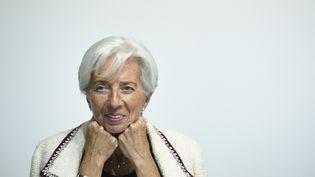 """63% des Français interrogés ont une """"bonne opinion"""" de Christine Lagarde, récemment nommée à la tête de la BCE. (JOHN THYS / AFP)"""