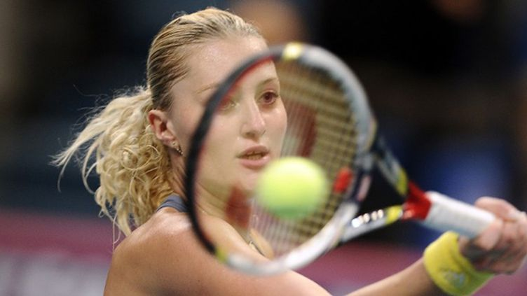 Kristina  Mladenovic (LIONEL BONAVENTURE / AFP)
