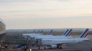 L'aéroport Roissy-Charles-de-Gaulle, le 11 février 2021. (SANDRINE MARTY / HANS LUCAS / AFP)