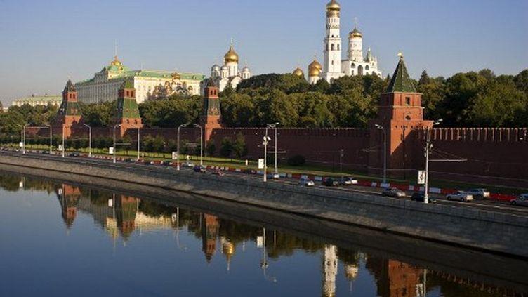 C'est ici au Kremlin que les Marathoniens ont fait demi-tour, après leur boucle sur les rives de la Moskova, lors des Mondiaux de Moscou en 2013 (SEUX PAULE / HEMIS.FR)