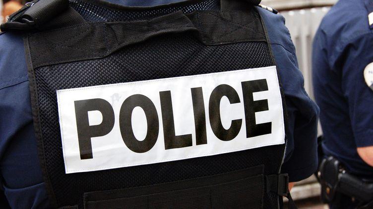 Des policiers en intervention. Photo d'illustration. (SEBASTIEN JARRY / MAXPPP)