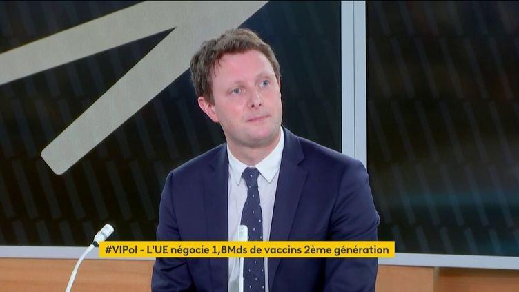 Clément Beaune, secrétaire d'Etat aux Affaires européennes, sur franceinfo, le 9 avril 2021. (FRANCEINFO)