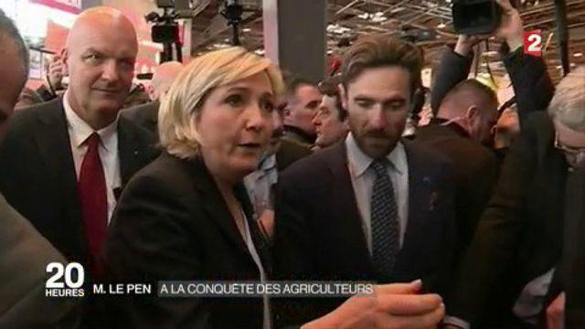 Marine Le Pen : à la conquête des agriculteurs