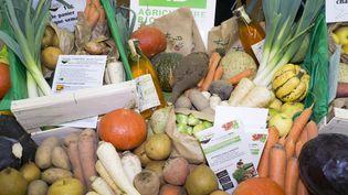 Des produits alimentaires issus de l'agriculture biologique en 2017. (MAXPPP)