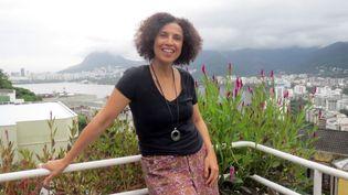 Paula Morelenbaum chez elle, à Rio de Janeiro (3 avril 2013)  (Annie Yanbékian)