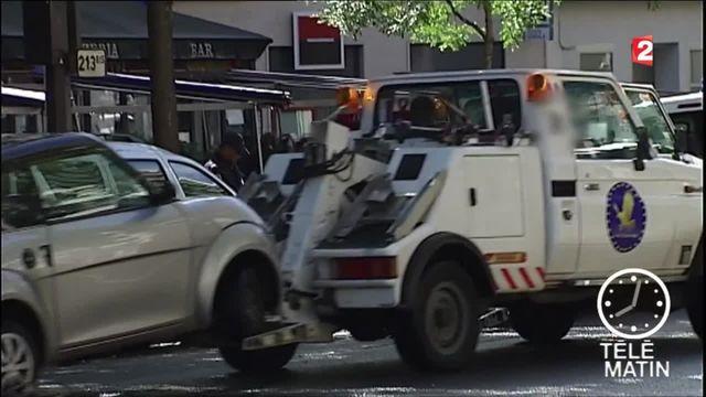 Fourrière : 700 véhicules enlevés chaque jour à Paris