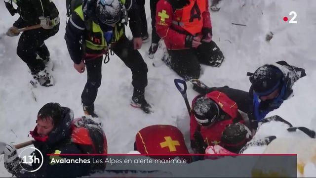 Montagne : les Alpes en alerte maximale aux avalanches
