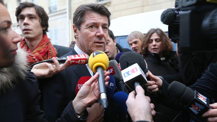 Christian Estrosi, le 27 novembre 2012 à Paris. (THOMAS SAMSON / AFP)