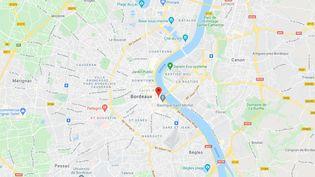 Rue de la Rousselle, Bordeaux (Gironde). (CAPTURE ECRAN GOOGLE MAPS)