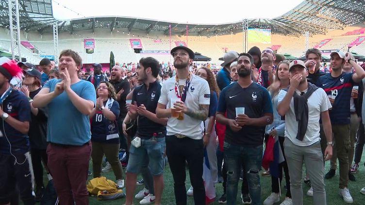 Euro 2021 : après la défaite des Bleus face à la Suisse, la désillusion des supporters (France 3)