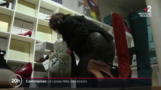 Commerces : trop-plein de marchandise dans les magasins