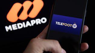 Les abonnés SFR pourront s'abonner à la chaîne Téléfoot, pour suivre le championnat de Ligue pour 25 à 30 euros par mois. (ARNAUD JOURNOIS / MAXPPP)