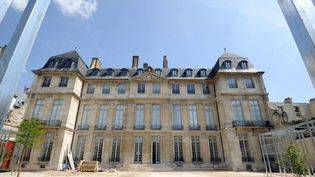 L'Hôtel Salé, dans le quartier du Marais, accueille le Musée Picasso  (STEPHANE DE SAKUTIN / AFP)