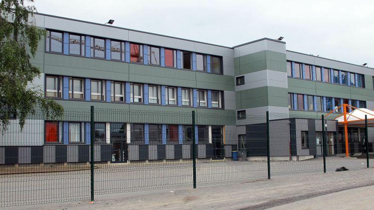 L'école primaire Paul-Langevin, à Saint-Laurent-de-Blangy, dans le Pas-de-Calais, le 28 juin 2013. ( MAXPPP)