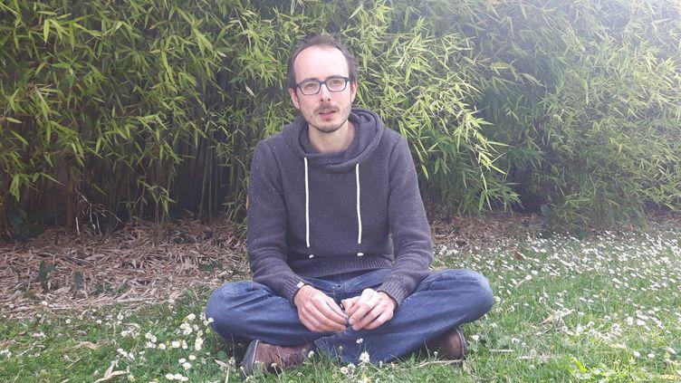 Antoine Deltour, lanceur d'alerte de LuxLeaks, en 2017. (SÉBASTIEN BAER / RADIO FRANCE)