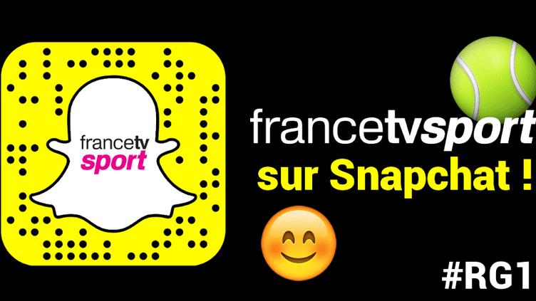 Suivez nous sur Snapchat