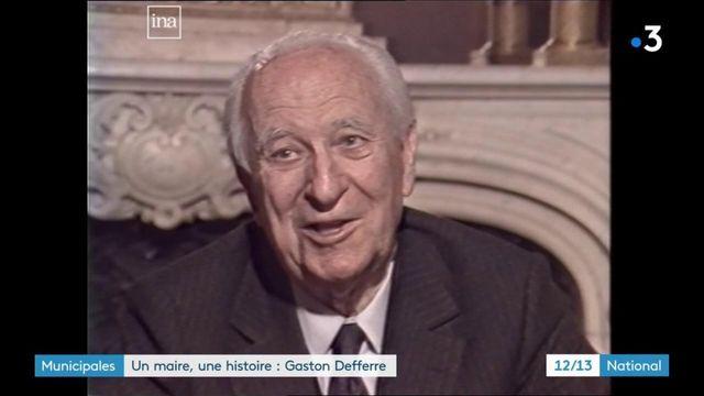 """Municipales : Gaston Defferre, """"l'homme de Marseille"""""""