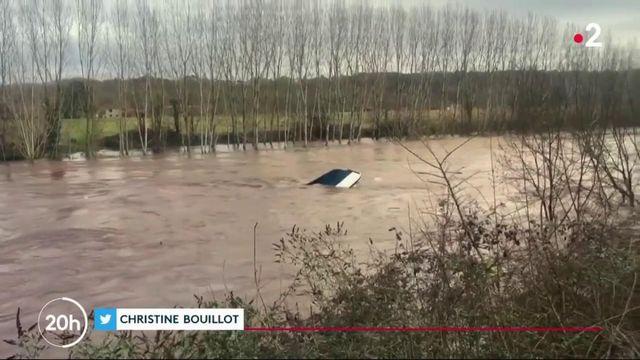 Inondations : d'importantes précipitations continuent de frapper le sud-ouest