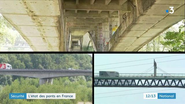 Sécurité : l'état des ponts en France passé à la loupe