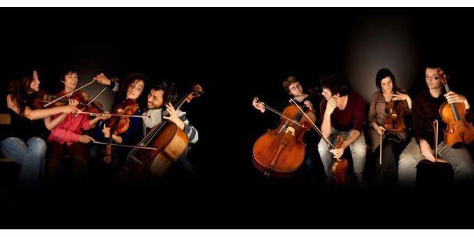 Les quatuors à cordes qui oeuvrent sur le disque  (Alexandre Lacombe)