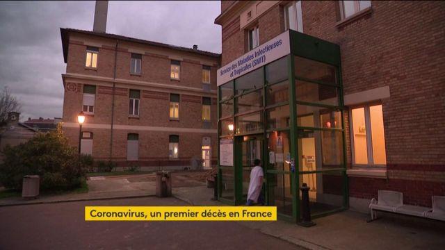 Coronavirus : un premier décès sur le territoire français