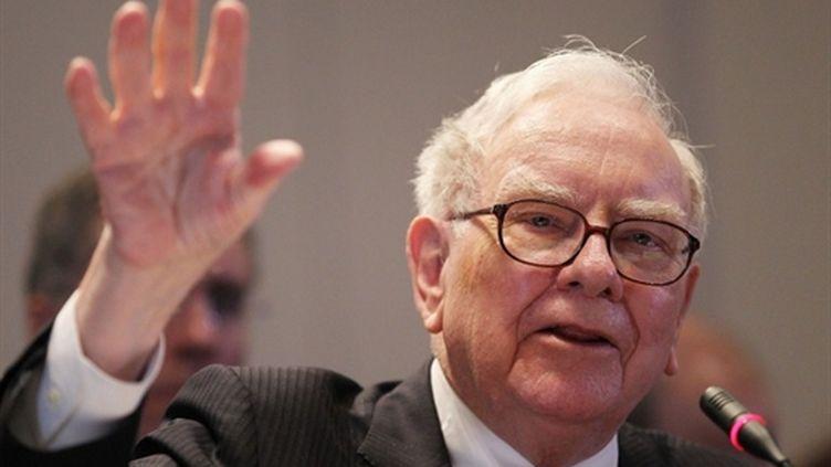 Le milliardaire américain Warren Buffett (AFP)
