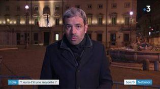 Marc Dana, envoyé spécial à Rome. (FRANCE 3)