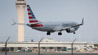 La compagnie American ailrines compte une vingtaine de Boeing 737 Max 8 dans sa flotte. (JOE RAEDLE / GETTY IMAGES NORTH AMERICA)