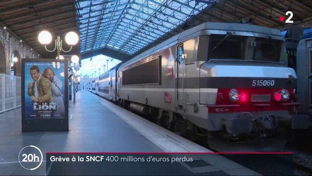 Grève à la SNCF : l'entreprise enregistre 400 millions de manque à gagner
