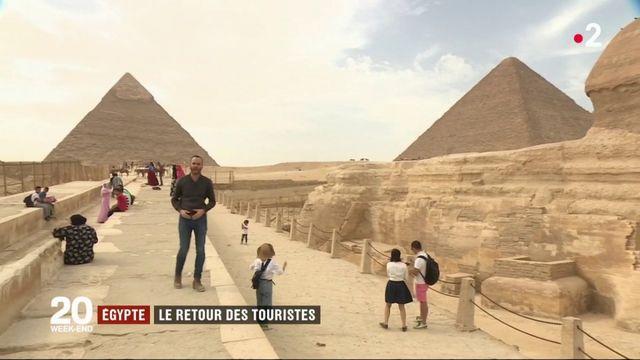 Égypte : les touristes font leur retour