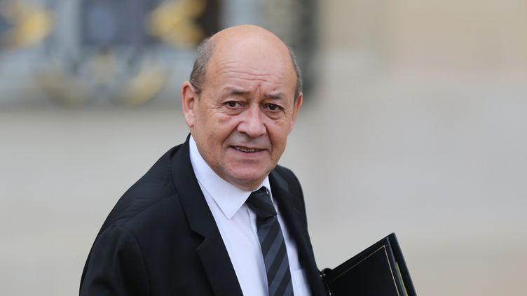 Jean-Yves Le Drian, le 28 octobre 2015. (CITIZENSIDE/YANN BOHAC / AFP)