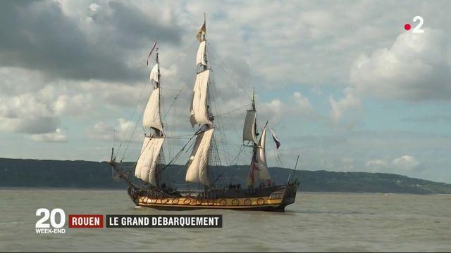 Armada de Rouen : dépaysement assuré à bord des 50 navires