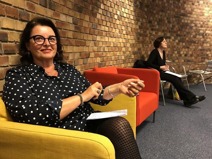 La journaliste Aline Pailler, Festival Hors Limites, 8 avril 2019  (Laurence Houot / Culturebox)