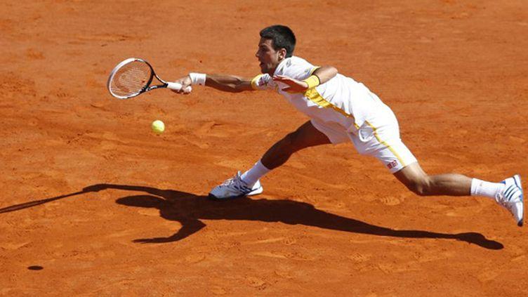 La glissade de Novak Djokovic, en défense