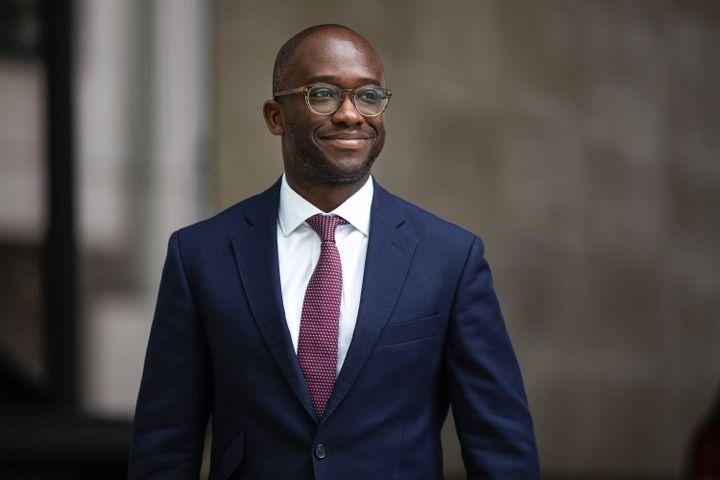 Ancien secrétaire d'Etat aux universités, Sam Gyimah a annoncé sa candidature pour succéder à Theresa May comme chef du Parti conservateur, le 2 juin 2019. (ROB PINNEY / AP / SIPA)