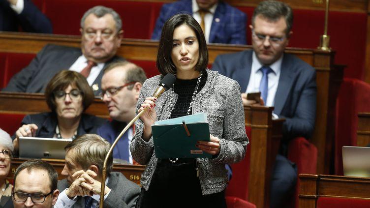 La députée Paula Forteza (LREM) fait partie des élus qui mettent en ligne leurs dépenses de mandat. (MAXPPP)