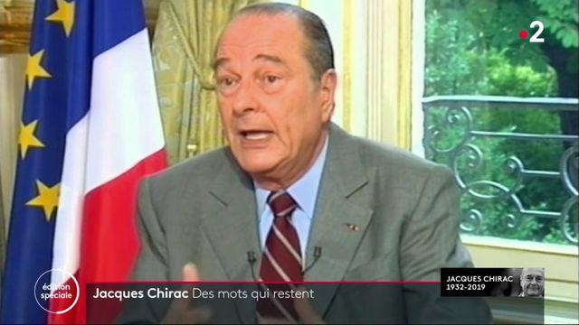 Mort de Jacques Chirac : ses petites phrases seront passées à la postérité