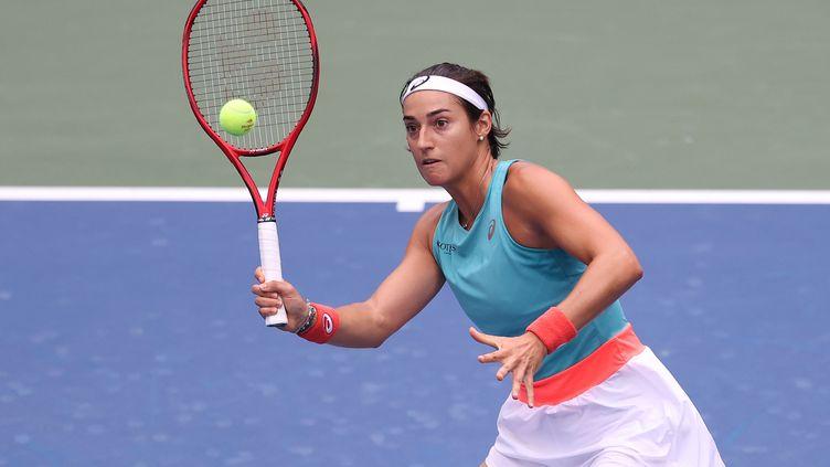 Mary Pierce a apprécié le niveau de jeu de Caroline Garcia, à l'US Open (AL BELLO / GETTY IMAGES NORTH AMERICA)